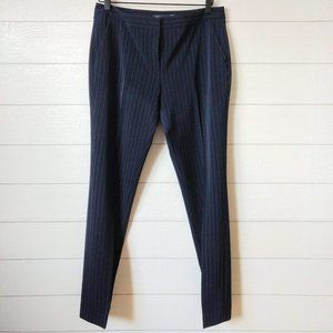 Tommy Hilfiger Pinstripe Trouser Work Pants Navy 6